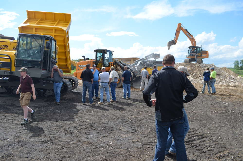 At three separate Groff Tractor and Equipment events, customers had the opportunity to preview the latest equipment from Case CE, Terramac and RUBBLE MASTER.