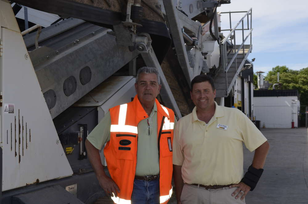 Eric Bjornson (L) of Metso and Scott Gilligan, H.O. Penn Metso product specialist, are the guys to call for any crushing and screening needs.