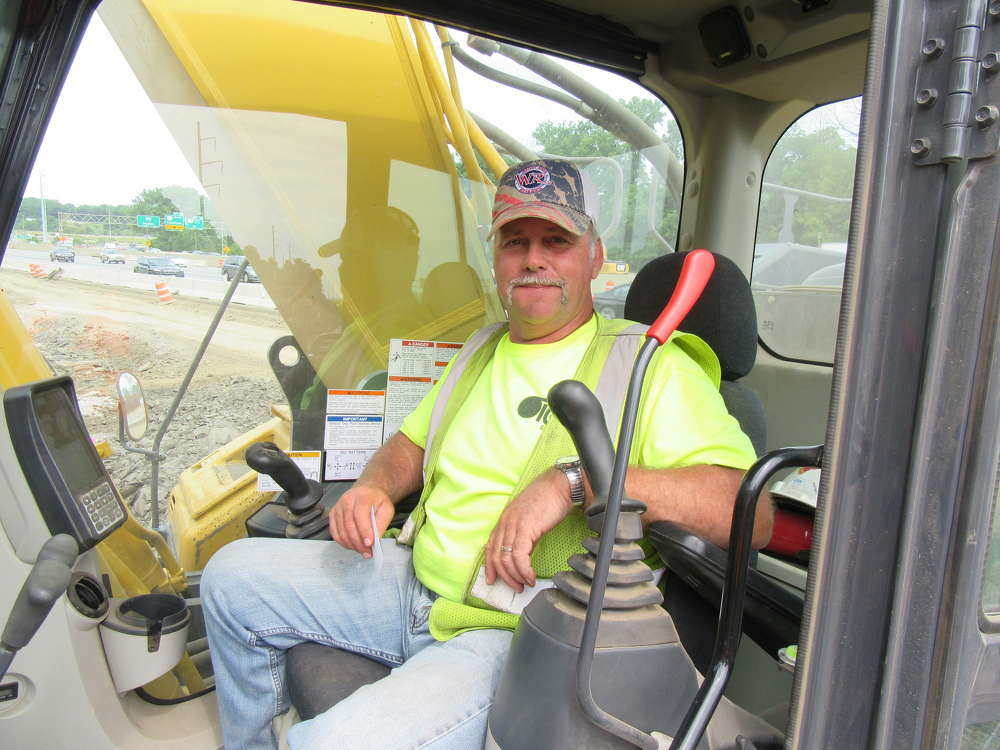 Scott Cline, George J. Igel & Company operator, said he's impressed with the drum cutter adding that he's been able to double his production time.