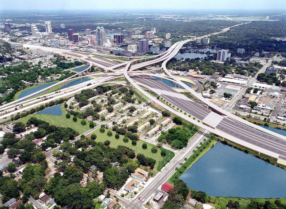 A rendering of the completed I-4 Ultimate.