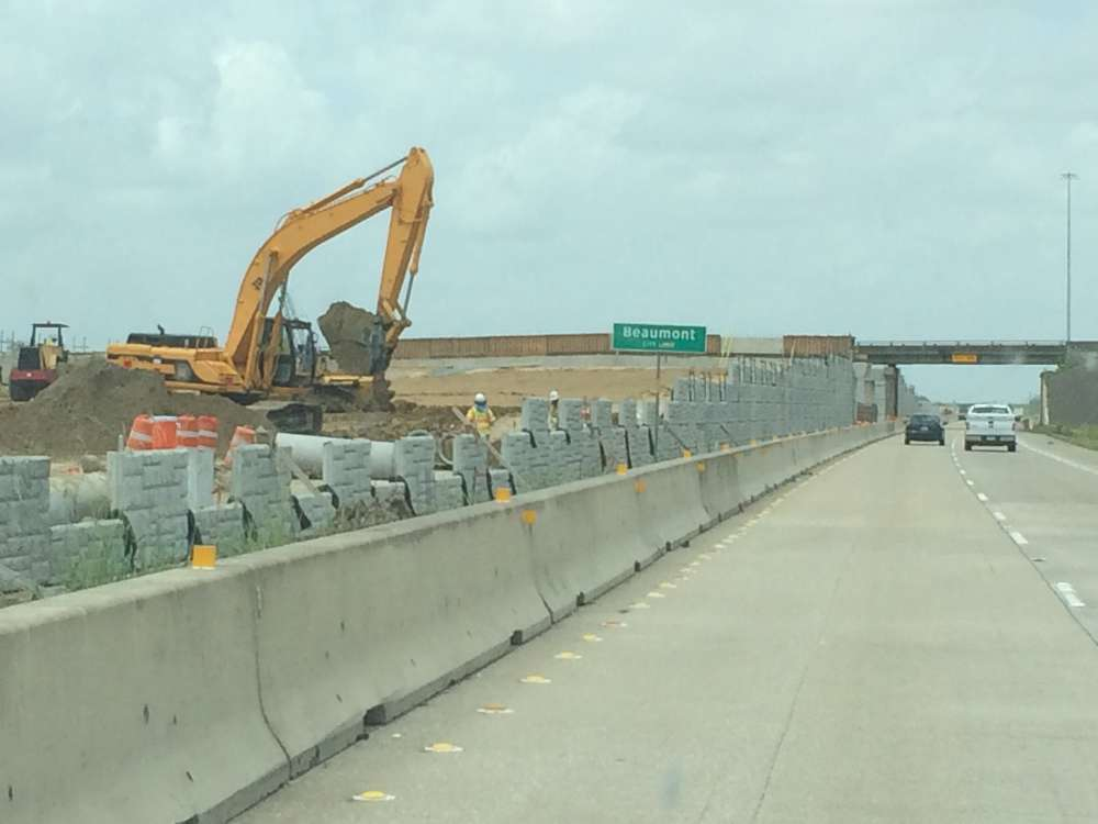 TxDOT photo. Along with replacing the current intersection with an overpass, the project will include two lanes in each direction over Major Drive