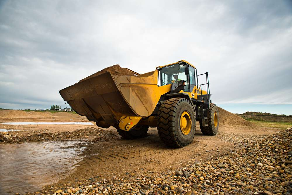 The Canadian company is currently running nine of the brand's wheel loaders in a diverse range of material handling applications.
