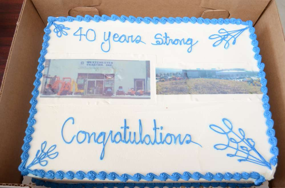 Westchester Tractor Inc. celebrated its 40th anniversary at the event.
