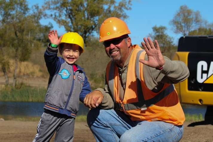 Day of the Dozers is a unique, fun-filled family event that promotes the construction industry.