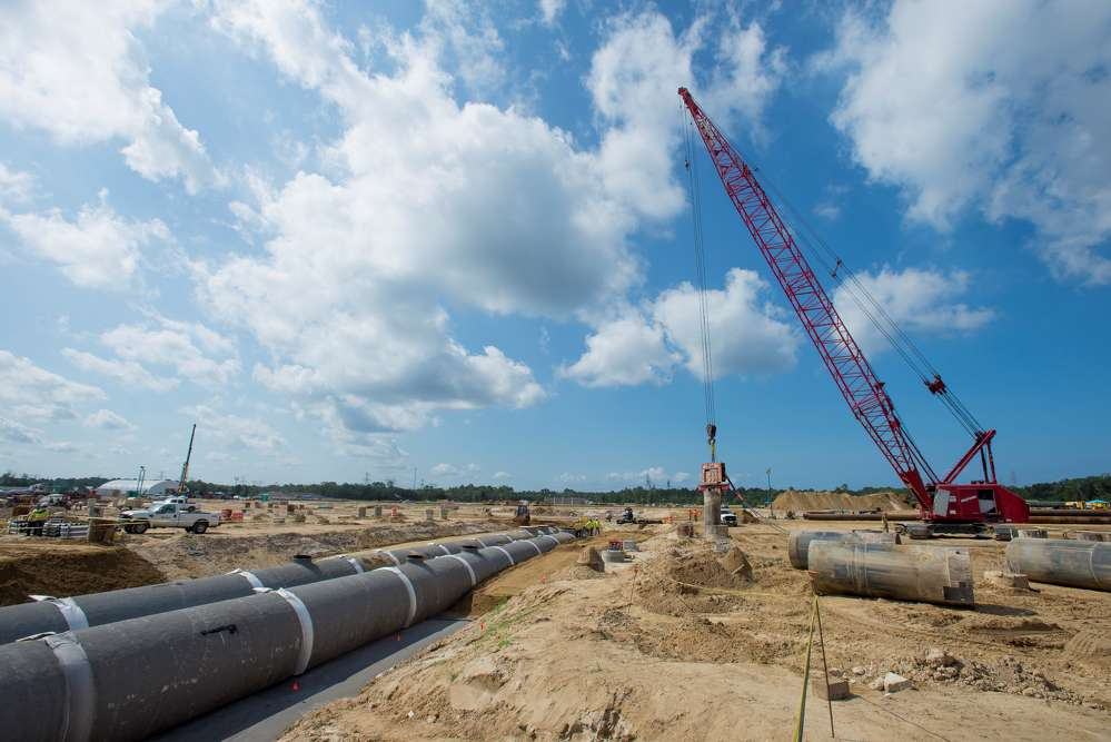 Duke Energy photo  The $1.5 billion, state-of-the-art plant will supply 1,640 megawatts of electricity to help serve the state's approximately 1.7 million customers in 2018.