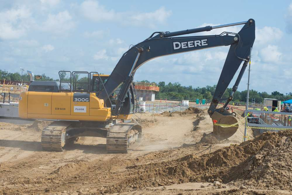 """Duke Energy photo  Mike Delowery, Duke Energy vice-president, project management and construction, said, """"It represents for us a chance to build our most advanced combined-cycle plant on the Duke system."""""""