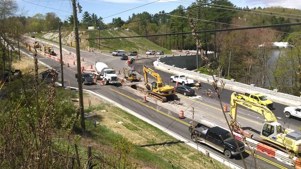 The $66.5 million U.S. 321 Improvement project, as designated by the North Carolina DOT, is set to be fully complete by early Fall 2017.