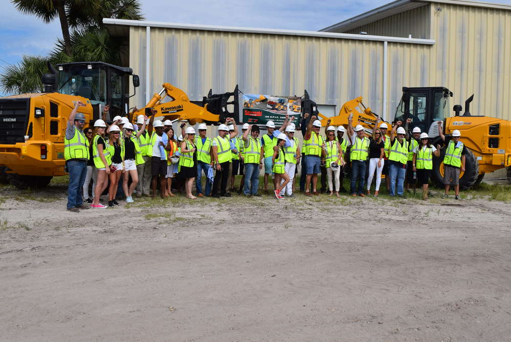 Great Southern Construction Equipment recently hosted the Orlando Exotic Car Club as it toured sites in the Orlando area.