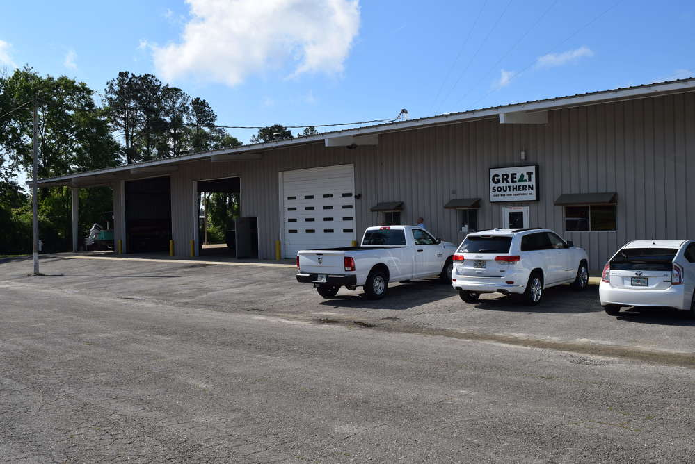 Great Southern Construction Equipment Co. recently announced the opening of a new branch facility in Midway (Tallahassee), Fla.