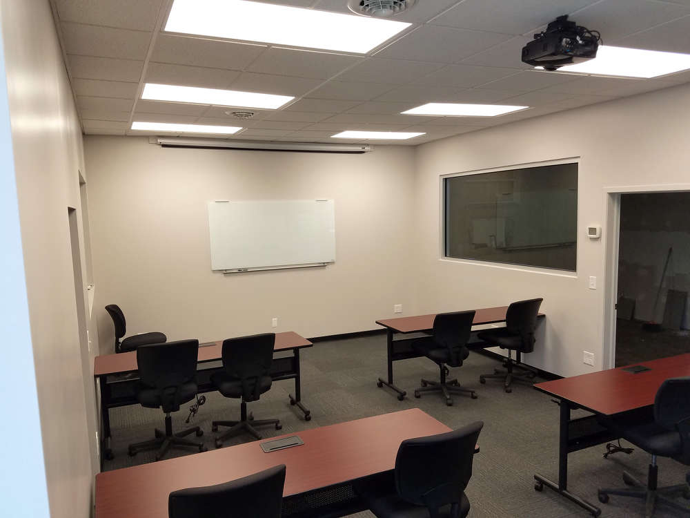 The new classroom facility at SEI's Prospect Park location in Philadelphia gives trainees a new modern and comfortable facility to learn in.