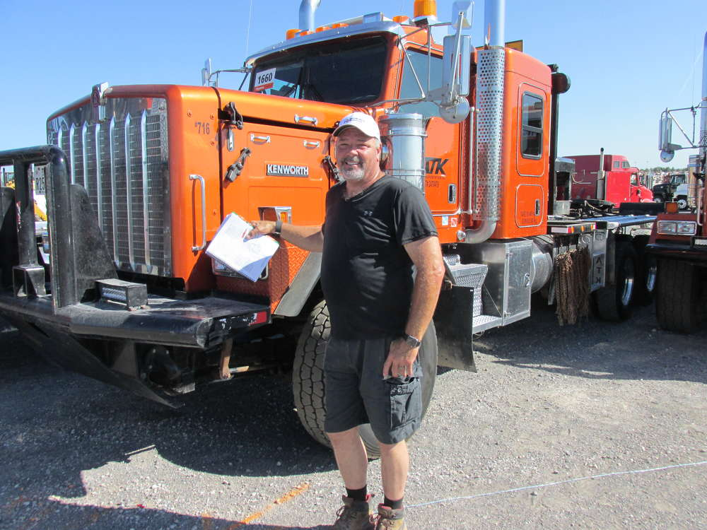 Tim Victory, Victory Infrastructure Construction LLC of Charlotte, N.C., has been looking for a TriDrive, 600 hp Kenworth just like this.