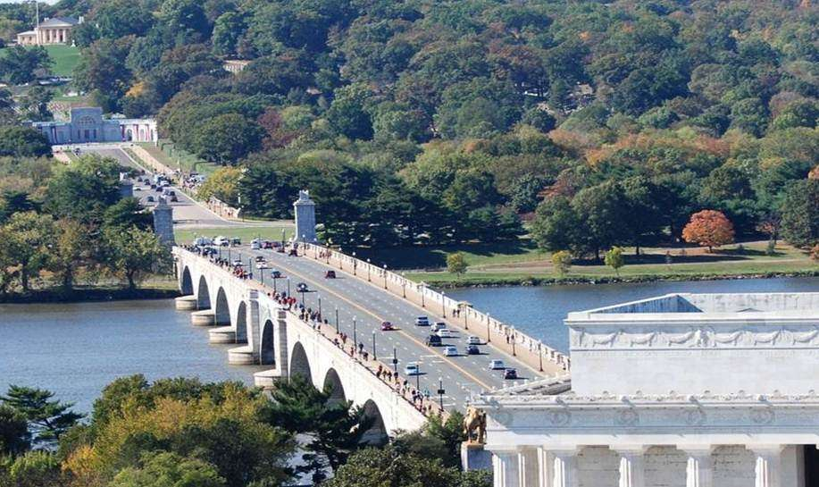 Arlington House Foundation photo The National Park Service has been awarded a $90 million federal grant to repair the rapidly decaying Arlington Memorial Bridge.