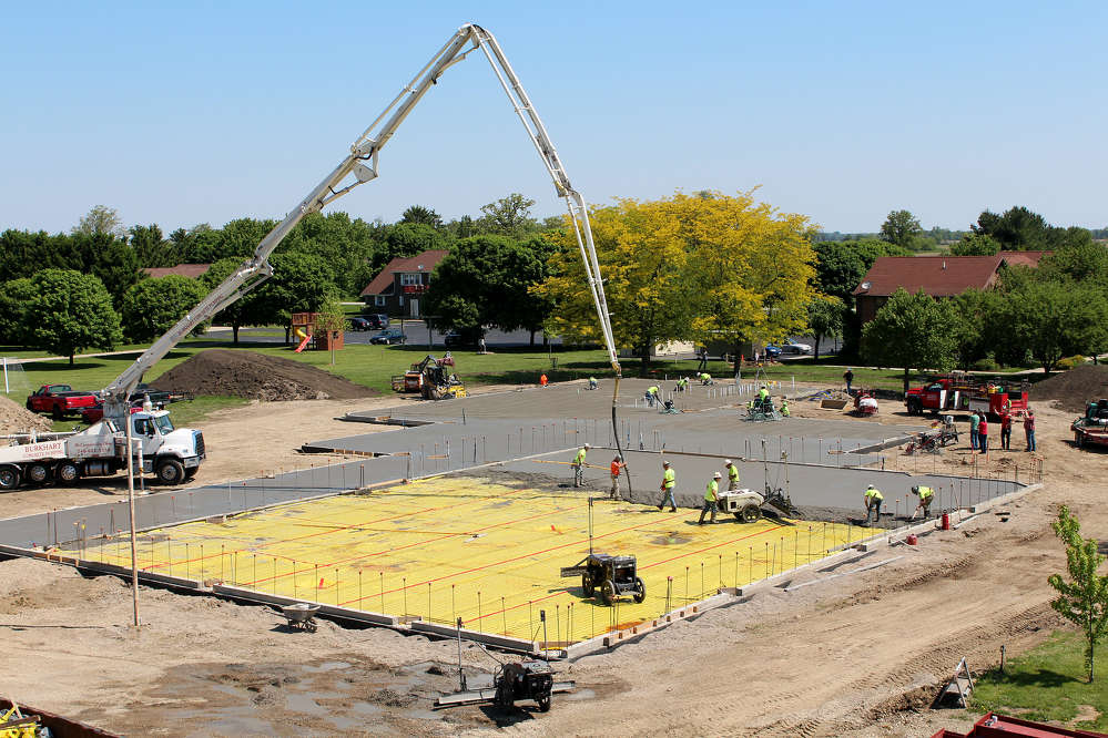 Students at Rosedale Bible College in Irwin, Ohio, will soon be able to enjoy the benefits of a brand new student center.