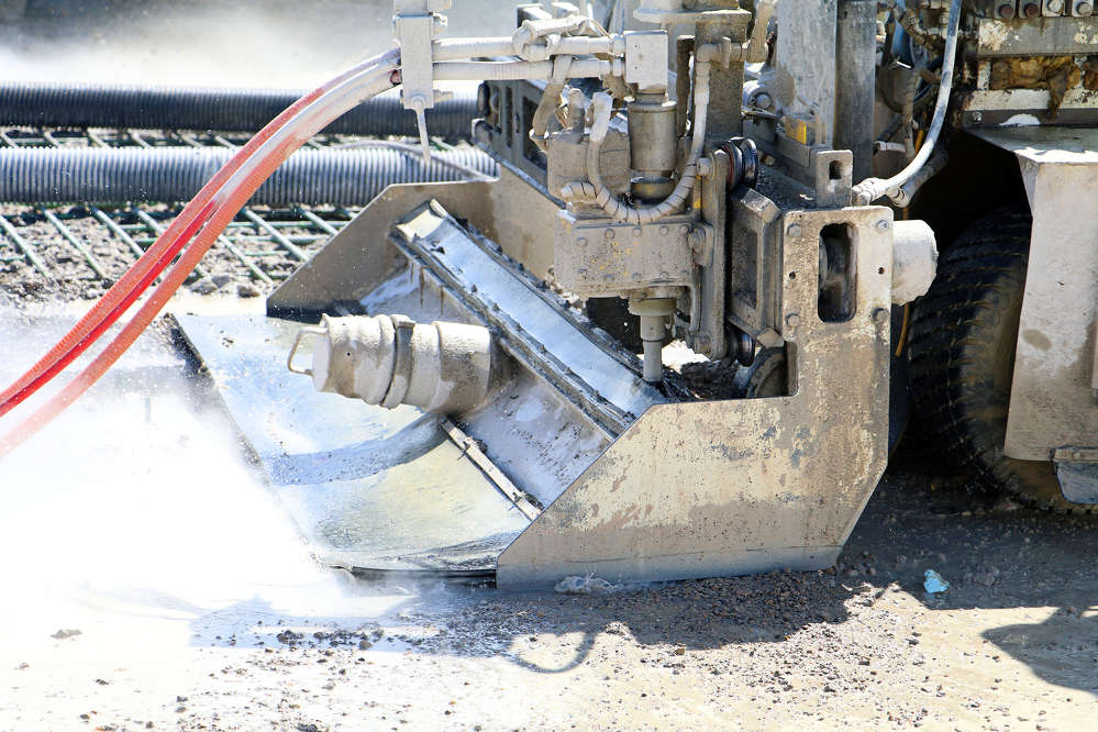 Hydro demolition is more precise than the traditional method of clearing out concrete—the jackhammer—and does its job without rattling or micro-fracturing the structural elements underneath.