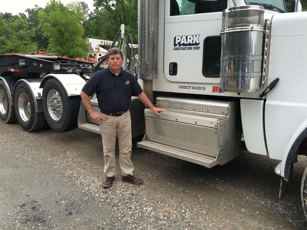 Chris Humbert, vice president of Park Construction of North Carolina Inc.