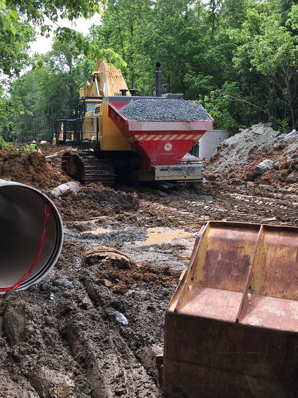 Park Construction of North Carolina Inc. specializes in water and sewer construction, and 95 percent of the company's projects are performed for municipalities.