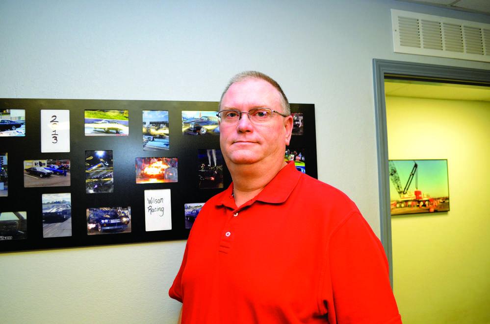 Chris Wilson, crane superintendent, Bennett Steel.