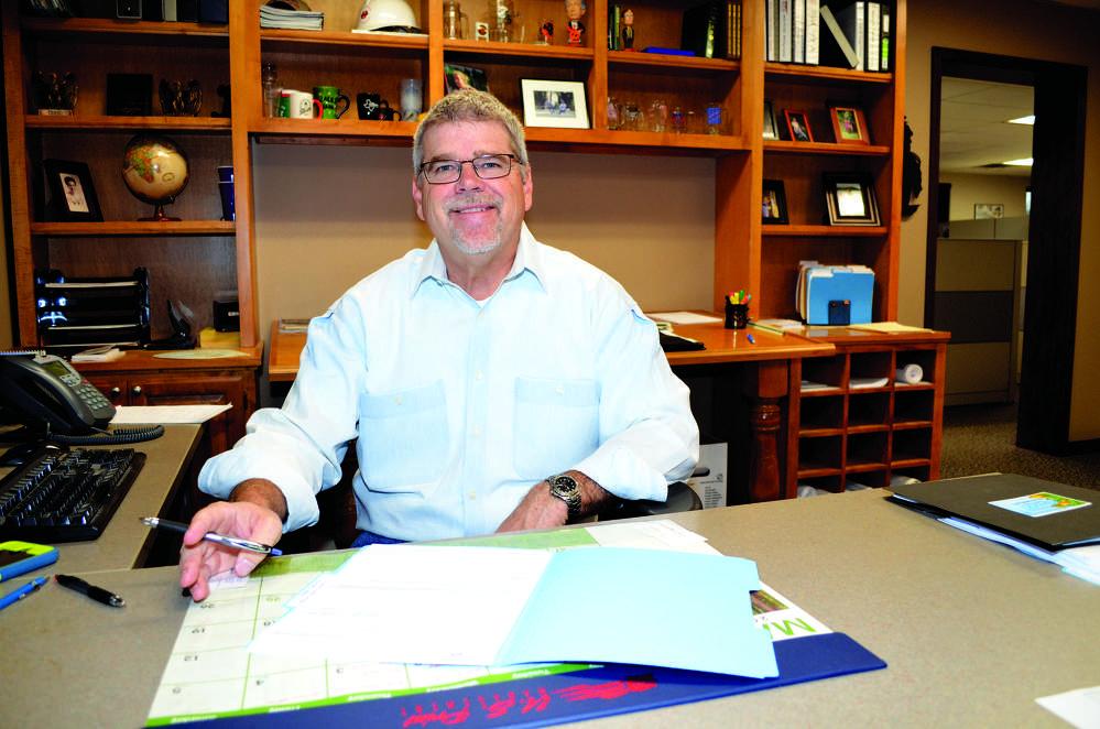 Jack Pitcock, vice president, sales, Bennett Steel.