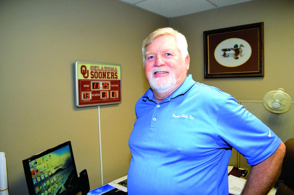 Floyd Duncan, project manager, Bennett Steel.