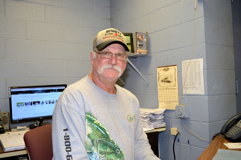 Delbert Brown, shop superintendent, Bennett Steel.