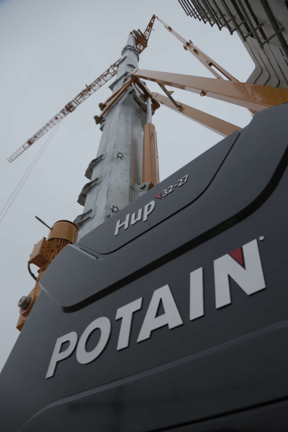 According to the company, the pioneering Potain Hup 32-27 is the first from the exclusive range and offers unique and innovative design features.