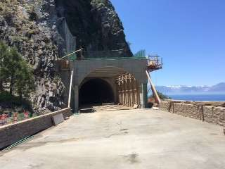 The approximately $6 million project results from a large-scale rock fall that occurred in early February 2015 and the threat of future rock falls.
