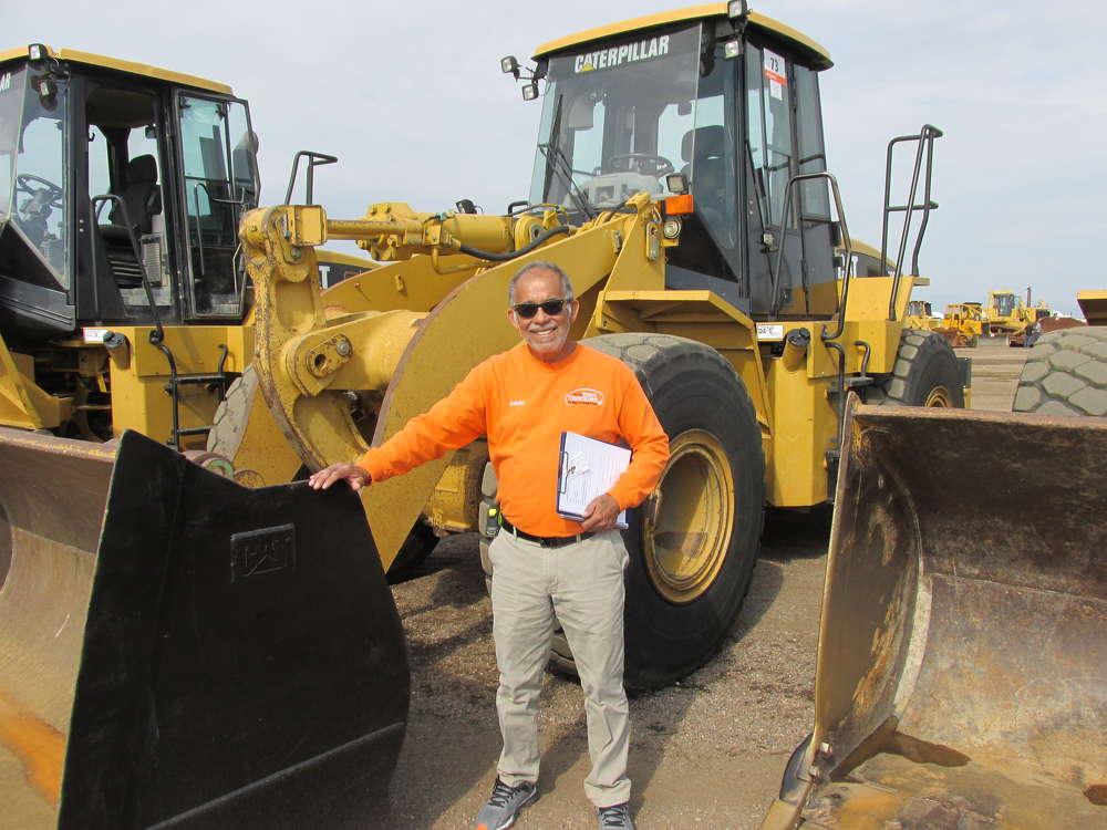 Eddie Morales of On the Road Trucking in Los Angeles,