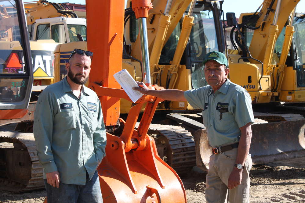 Chris and Paul, employees of MDC Excavation in Seekonk, Mass., were on the look out for new machines to add to their fleet.