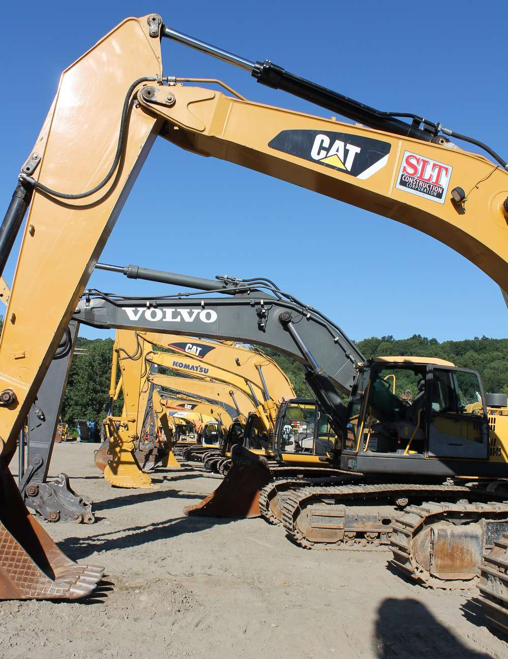 Who will go home with one of these excavators?