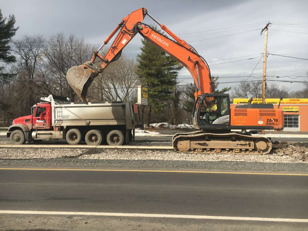 PennDOT photo. The Pennsylvania Department of Transportation is working on a $36.5 million project to enhance travel and safety along a 4.3-mi. (7 km) stretch of U.S. 13 (Bristol Pike).