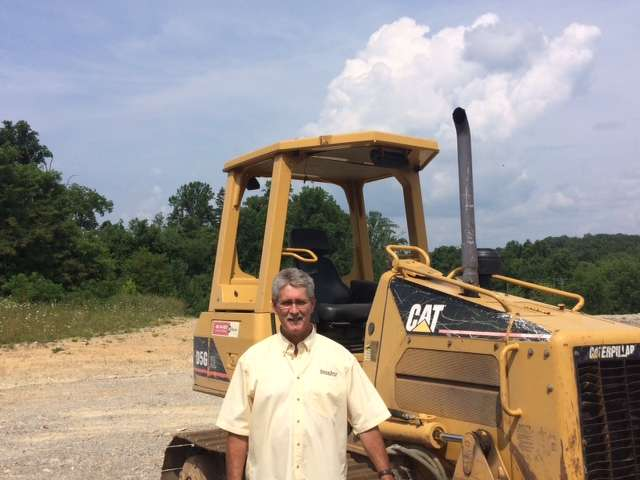 Rob Newsome, territory manager covering W. Va., Va., and parts of N.C., Martin & Martin Auctioneers, was on site for his first Martin & Martin auction.