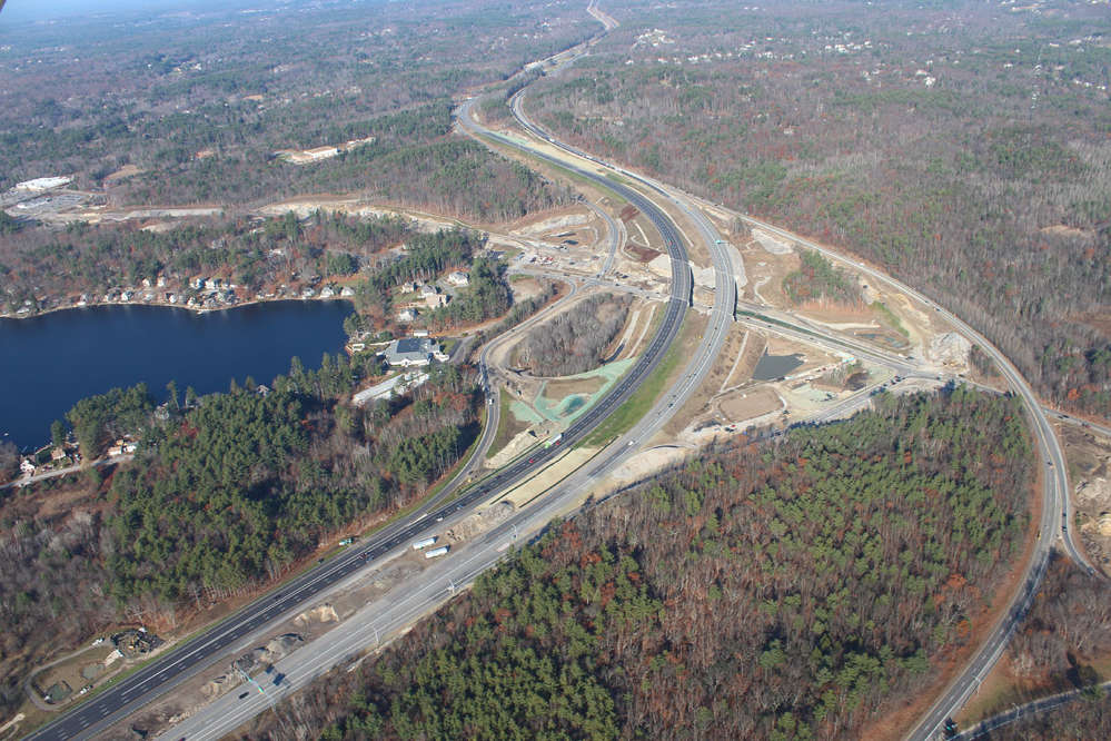 New hampshire improves 20 miles of roadway bridges park for New construction in nh