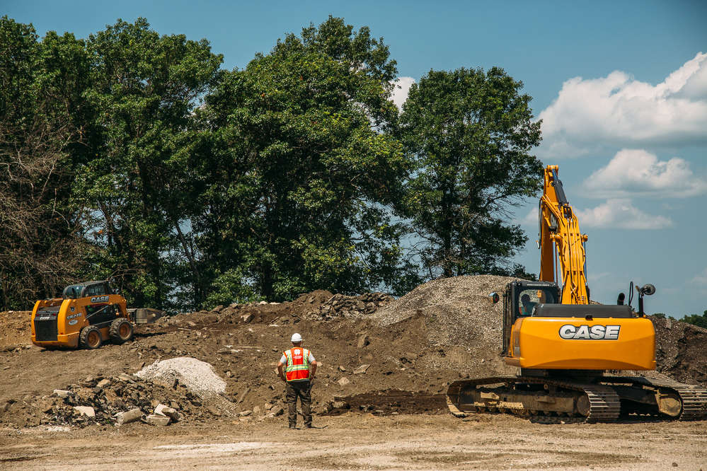 Miller-Bradford and Case provided skid steers, excavators and compact excavators, as well as training support, while Paladin Attachments supplied skid steer grapple buckets, for Team Rubicon's heavy equipment training program.