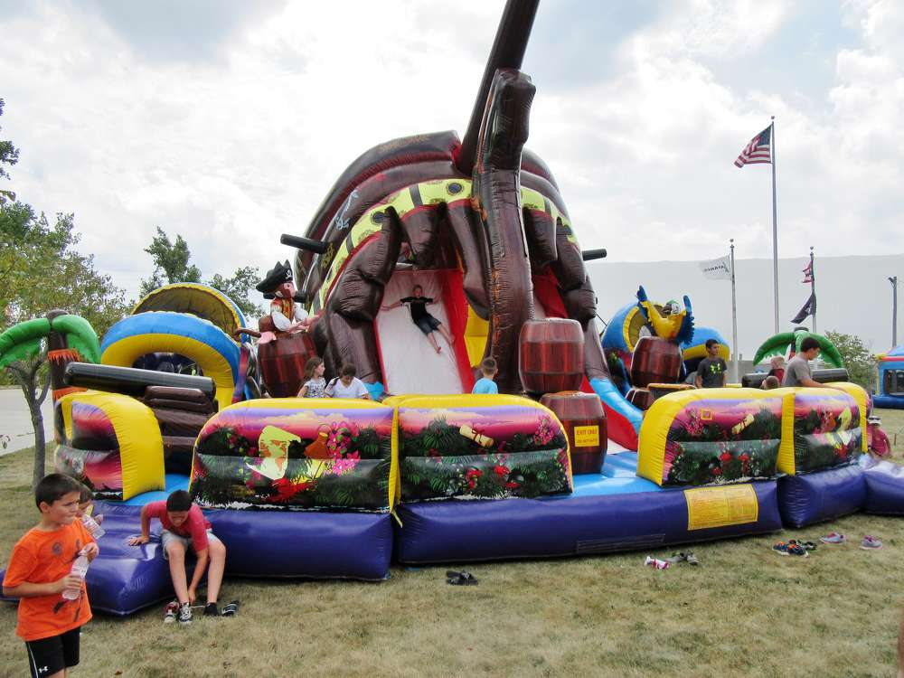 There was plenty of fun to be had for both kids and adults at the event.