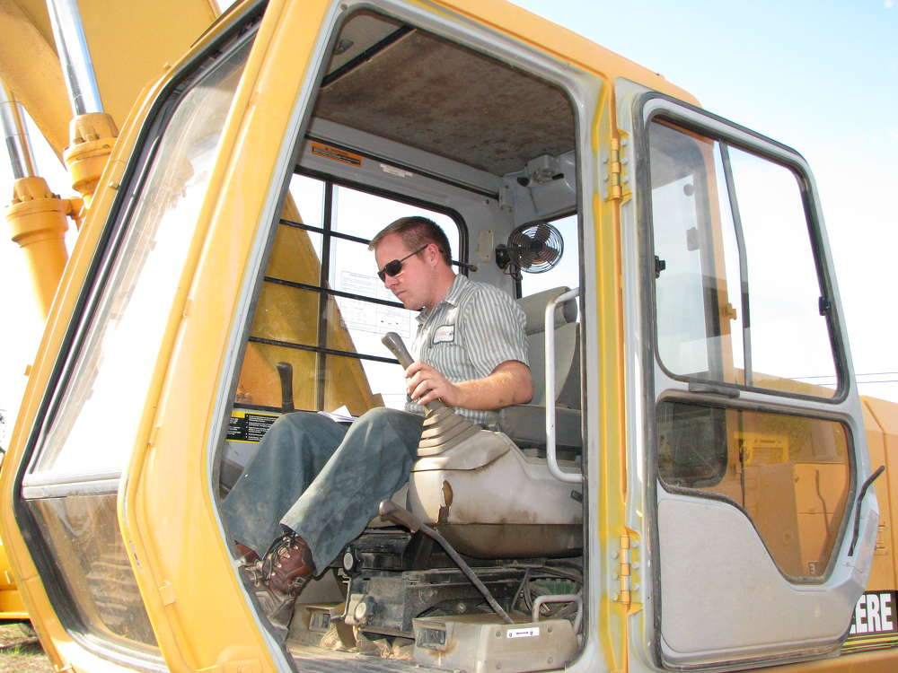 Chris Allen of Cornerstone Concrete, North Augusta, S.C.,