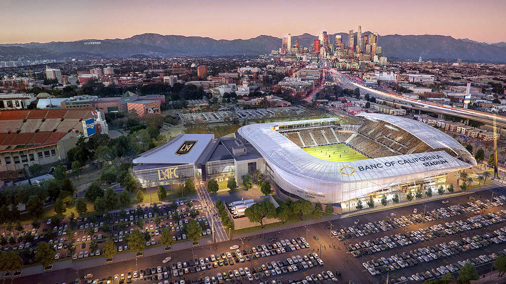 Designed by LA-based architectural firm Gensler, the stadium will maximize both fan and player experiences.