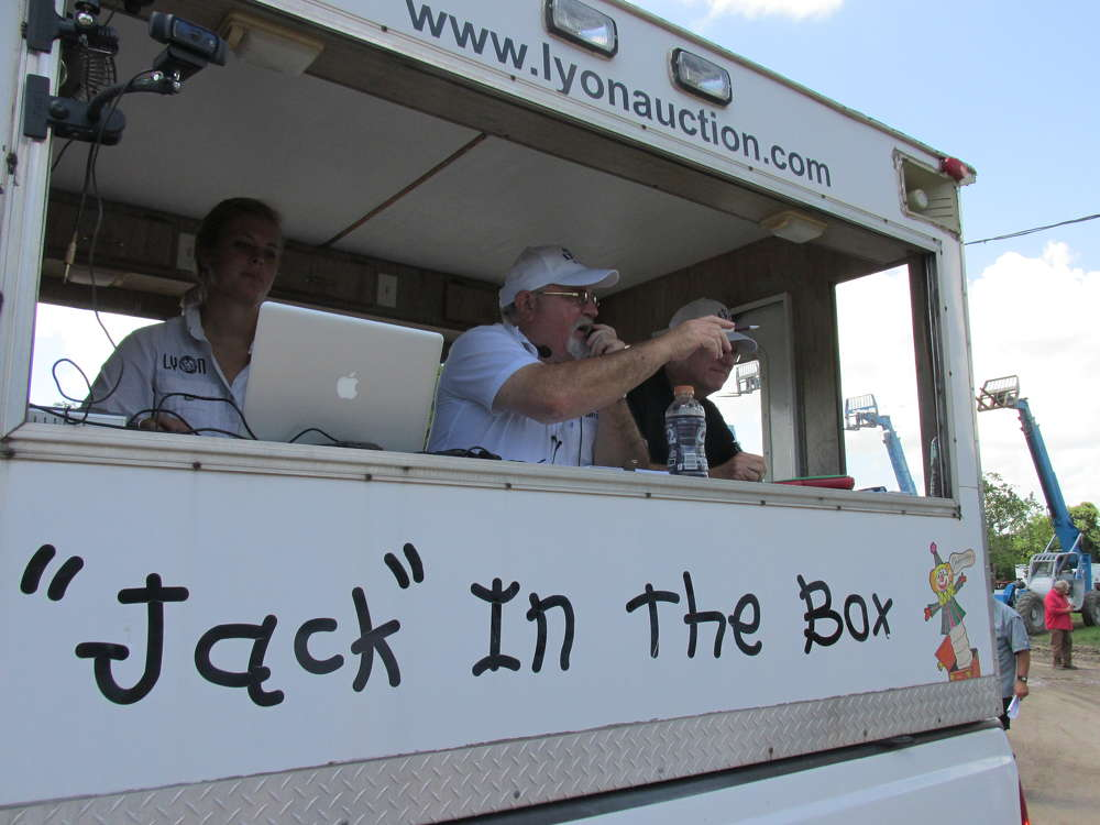 """Jack has another big deal going from the """"Jack-in-the-Box"""" trailer."""