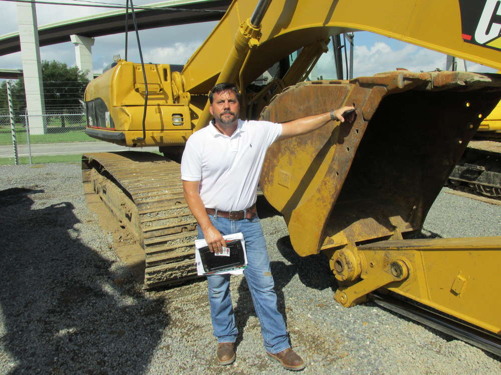 James Morehead of Complete Demolition Services Inc. in Carrollton, Ga., has checked all the excavators available and has this Cat 330C on his list.