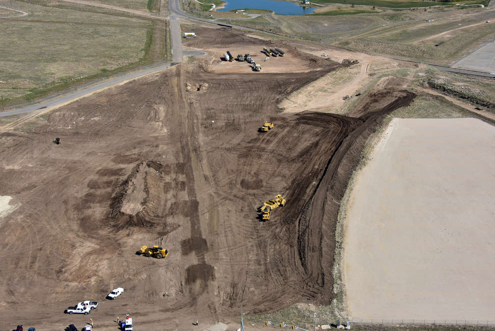 Nielson Construction photo. The major roads in the area are heavily congested and the Mountain View Corridor will help disperse traffic in the area.