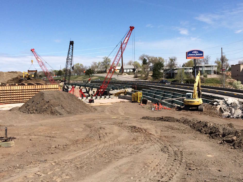 SDDOT photo. So far, the project is on schedule, with no significant issues that have raised the cost.
