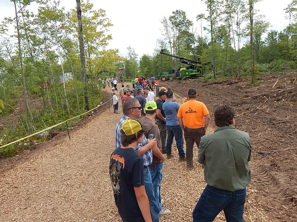 Approximately 200 loggers from Minnesota, Wisconsin and Michigan attended the event.