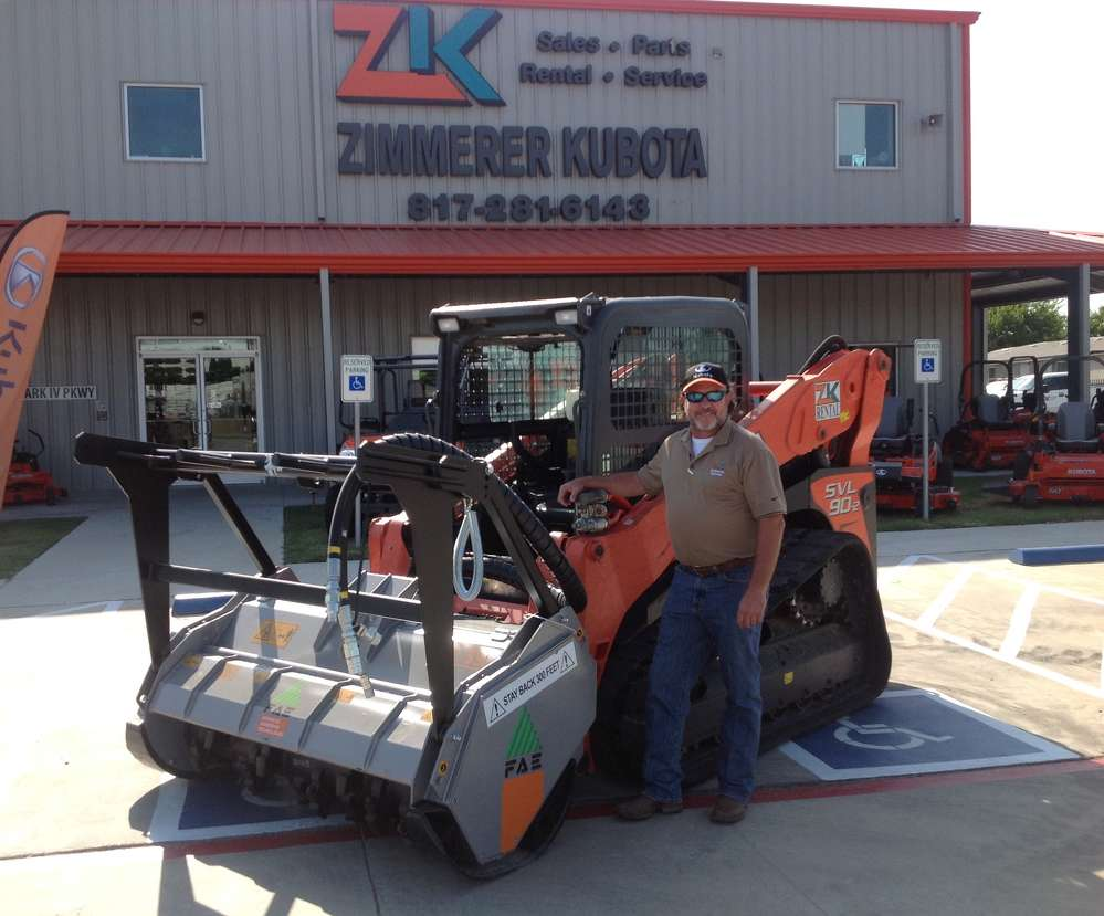 Sam Zimmerer, president of Zimmerer Kubota & Equipment.