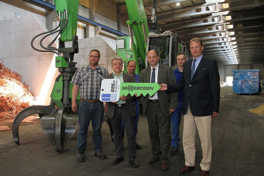 """The management of the Nickelhütte facility said """"Electric drives are the future for us, not the least because we generate electricity ourselves at the plant."""""""