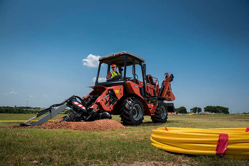The RT105, and the RT125 and RT125 Quad are powered by 107- and 121-hp turbocharged, Tier IV Deutz engines, respectively, for enhanced performance on any job.