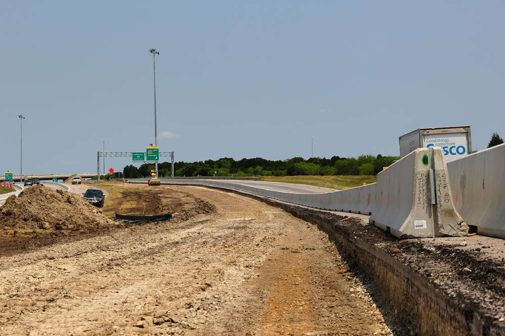 Central Texas Regional Mobility Authority photo. The project was started in April is expected to be complete in 2020.