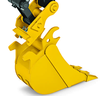 The Hydraulic Coupler works with a variety of Worksite Pro buckets and attachments, and is compatible with most competitive models.