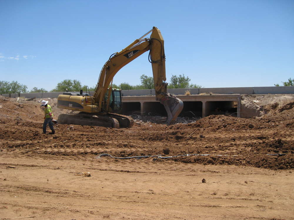 AZDOT photo. Work has begun on a $41 million project to widen southern Arizona's State Route 86 (Ajo Way) from Valencia Road to Kinney Road.