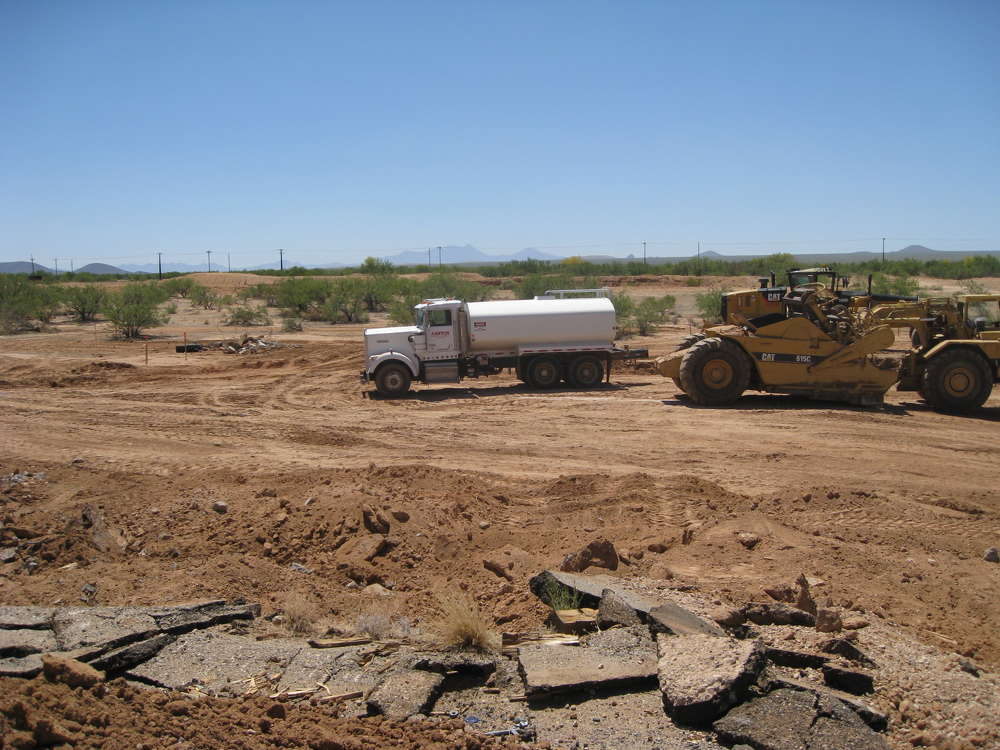 AZDOT photo. The project is located in Pima County near Tucson.