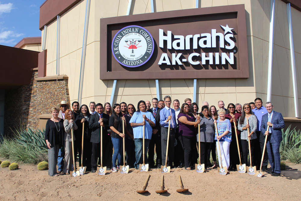 The Ak-Chin Indian Community and Sundt-Yates, a joint venture between Sundt Construction Inc. and Yates Construction, recently broke ground on a multi-million dollar expansion at Harrah's Ak-Chin Casino.