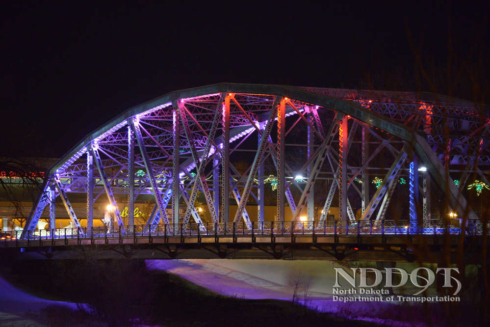The Sorlie Bridge that connects the cities of Grand Forks, N.D., to East Grand Forks, Minn., was rehabilitated.